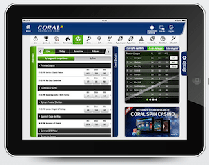 Casinos Coral iPad