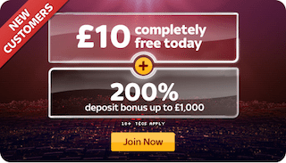 Sky Vegas No Deposit Bonus Welcome